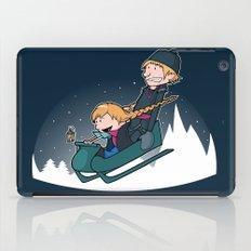 A Snowy Ride iPad Case