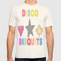 Disco Biscuits 2 Mens Fitted Tee Natural SMALL