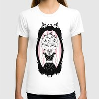 Lady CriCri Womens Fitted Tee White SMALL