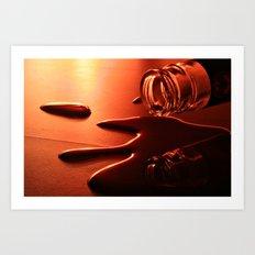 Liquid Metal Art Print