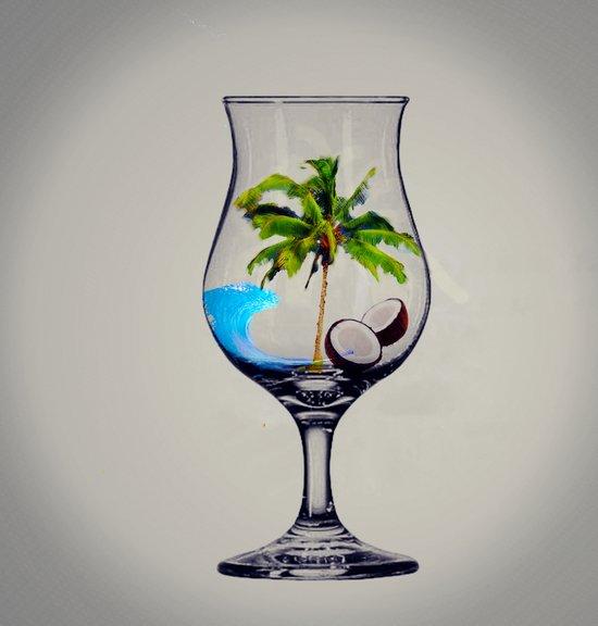 MixMotion: Tropical Drinks Art Print