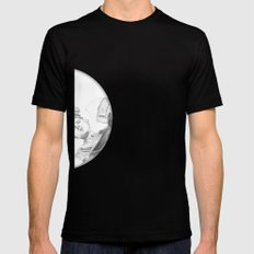 Breaking Barrel SMALL Black Mens Fitted Tee