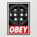 OBEY - Big Daddy Canvas Print