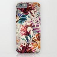Tulip pattern iPhone 6 Slim Case