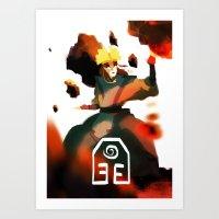 Avatar Kyoshi II Art Print