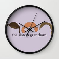 The Sisters Grantham: Do… Wall Clock