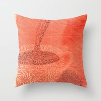 WakeUp! Throw Pillow