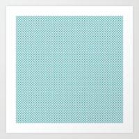 U1: Just Dots Art Print