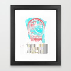 DEATH BECOMES U Framed Art Print