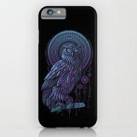 iPhone & iPod Case featuring Owl Nouveau II by Jorge Garza