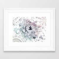 Universe in Progress Framed Art Print
