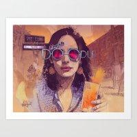 Welcome To The Fresh Doo… Art Print