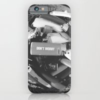 iPhone & iPod Case featuring Don't worry by Gregorio Poggetti