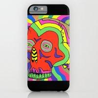 Hallucinogenic Skull iPhone 6 Slim Case