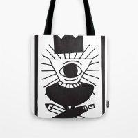 Mighty Eye Card Tote Bag