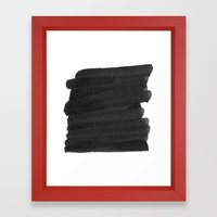 censor Framed Art Print
