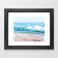 Aquamarine Dreams 1 Framed Art Print