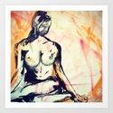 Meditate Art Print