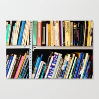 Books, Books And More Bo… Canvas Print