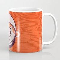 Retro Space Guy Mug