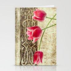 vintage flowed  Stationery Cards