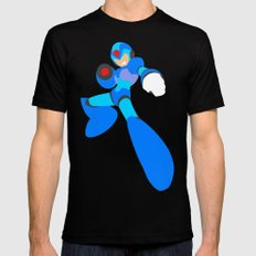 Buster B.A. (Megaman) SMALL Black Mens Fitted Tee