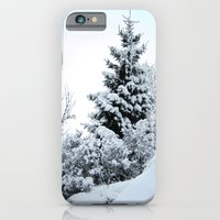 iPhone & iPod Case featuring Natures Christmas Tree by World Raven