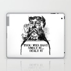 Vintage Thou who hast smelt it, dealt it  Laptop & iPad Skin