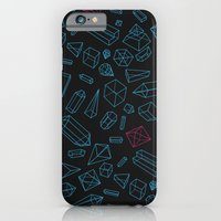 iPhone & iPod Case featuring Crystals Pattern by pakowacz
