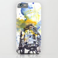 iPhone Cases featuring R2D2 from Star Wars by idillard