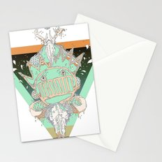 death of a party Stationery Cards