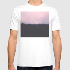 Seamless forest Mens Fitted Tee White SMALL