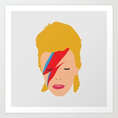 Bowie Is Lightning Art Print
