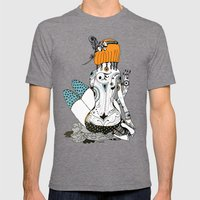 Redhead Mens Fitted Tee Tri-Grey SMALL