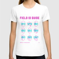 ARCADE FIELD ID GUIDE - SERIAL 001-009 Womens Fitted Tee White SMALL
