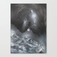 GHOST 5 Canvas Print