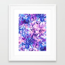 Framed Art Print - Changes Purple - Jacqueline Maldonado