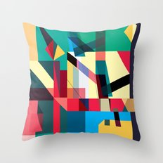Lost In Woods Throw Pillow