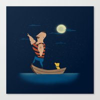 Forever Forward (Night) Canvas Print