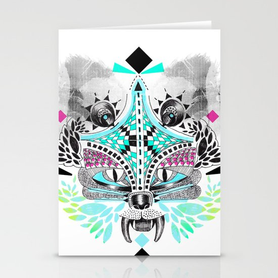 Undefined creature Stationery Card