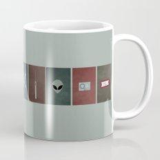 X-Files colors Mug