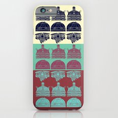 Robots don't like stairs (R2D2, Johnny 5 & The Dalek) Slim Case iPhone 6s