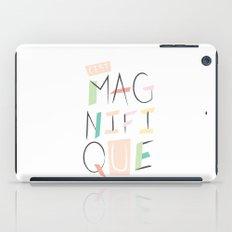 c'est magnifique iPad Case