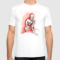Despair Mens Fitted Tee White SMALL