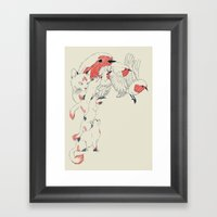 Non Wind-Up Robin Framed Art Print