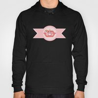 Pink Lady With Sweets Hoody