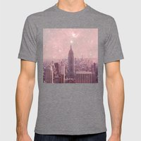 Stardust Covering New Yo… Mens Fitted Tee Tri-Grey SMALL