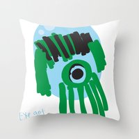 My Eye Is Only On You [S… Throw Pillow