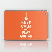 Keep Calm And Play Guita… Laptop & iPad Skin