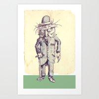 owlmeister Art Print